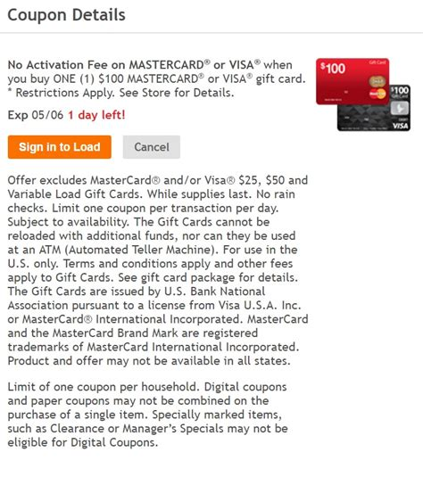 Visa Gift Cards With No Activation Fee - 0 activation fee visa mc gift card at kroger earn rewards 2x fuel points