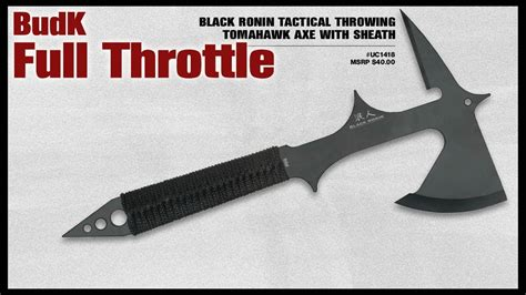 how to make a tactical tomahawk black ronin tactical throwing tomahawk axe with sheath