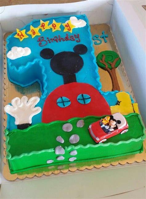 torta casa di topolino torte di compleanno di topolino con numero blogmamma it