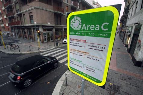 orari ingresso area c area c orari pagamento mappa e multe foto e