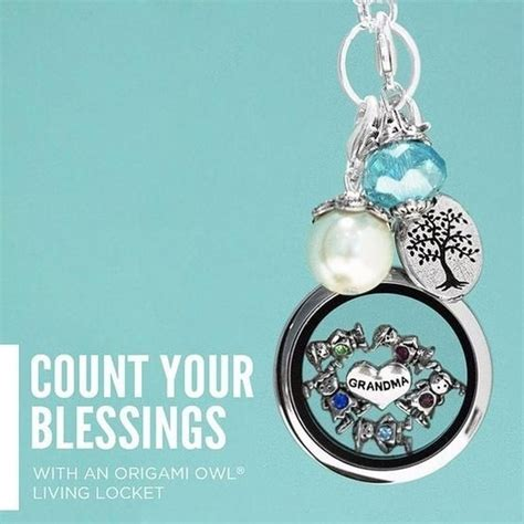 Origami Owl Warehouse - origami owl grandmother grandchild locket necklace