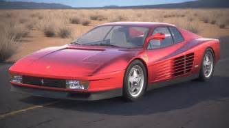 Picture Of A Testarossa Testarossa 1984 3d Model