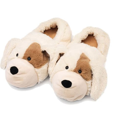 puppy slippers puppy slippers microwavable size next day delivery