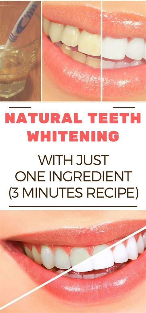 natural teeth whitening    ingredient