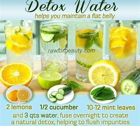 Losing Weight From Detox by Detox Water Helps Reduce Belly