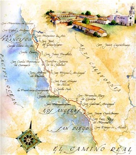 california map san juan capistrano san juan capistrano mission california missions the
