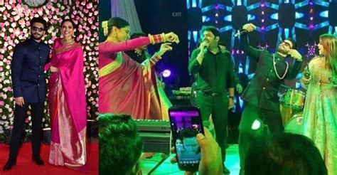 deepika padukone kapil sharma reception deepika ranveer dance their hearts out at kapil sharma s