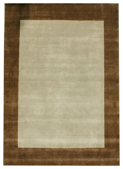 Light Blue And Brown Area Rug Border Bd Plain Light Blue And Brown Rug Rectangle 7 6 X9 6 Area Rugs By Rug And Home