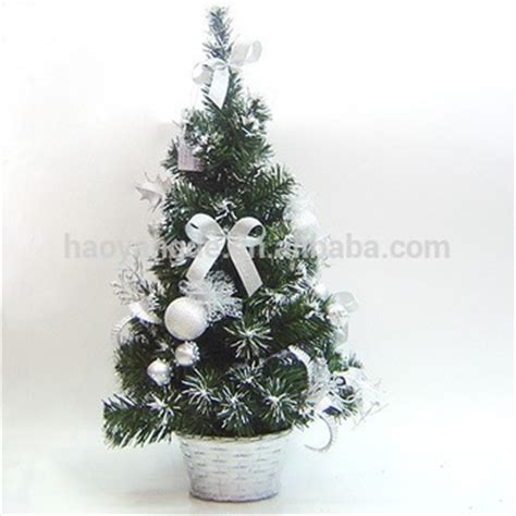 2015 hot sale artificial decorated mini christmas tree