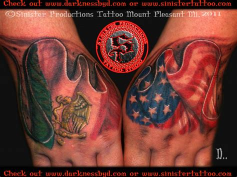 mexican flag tattoos designs pictures for sinister productions studio in mount