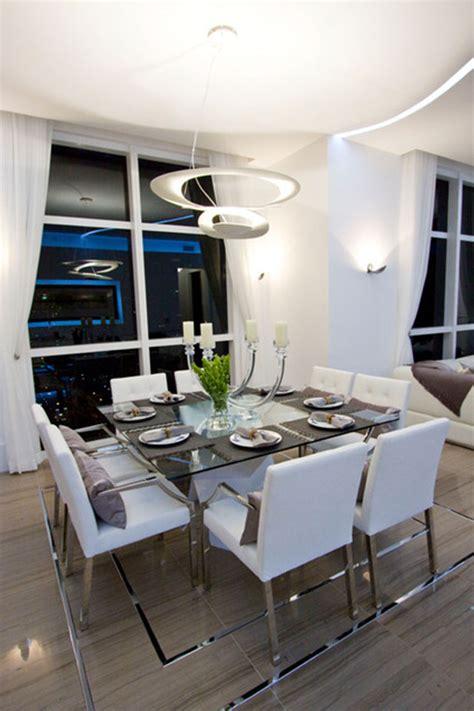 decoracion comedor mesa de vidrio 35 fotos e ideas para decorar la mesa del comedor mil