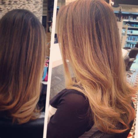 Cheveux Bruns Meches Caramel L