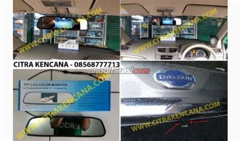 Kamera Mundur Parkir Mobil Layar Monitor Led 43 1 Sett Lengkap Univ paket monitor spion kamera parkir