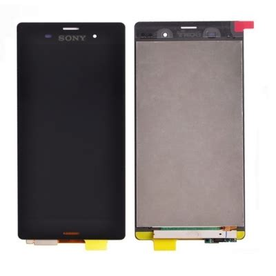 Lcd Hp Sony Z3 sony xperia z3 d6603 d6653 lcd digitizer touch screen display replacement black