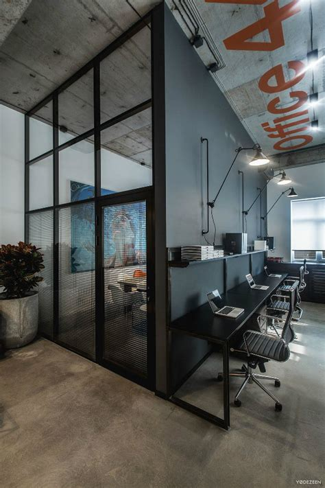 Cool Office Lighting by Offices With An Industrial Interior Design Touch