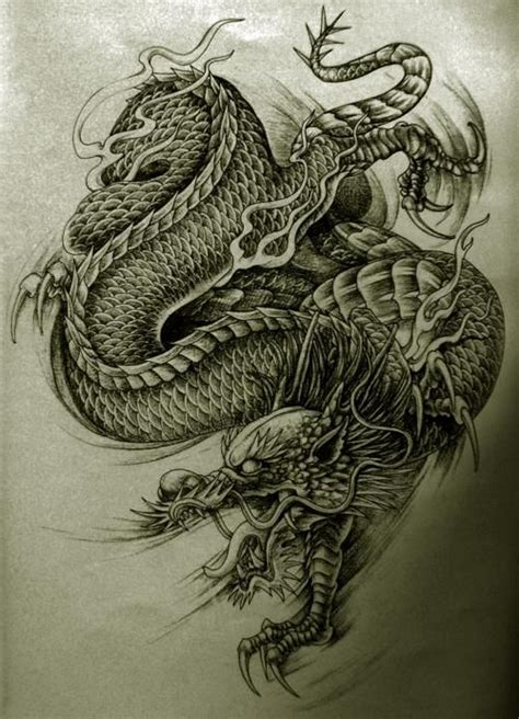 dragon tattoo designs oriental dragon tattoo designs
