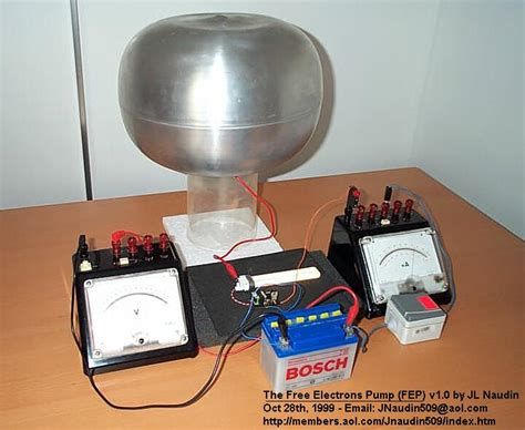 energy stored in a spherical capacitor free electrons v1 0 by jean louis naudin