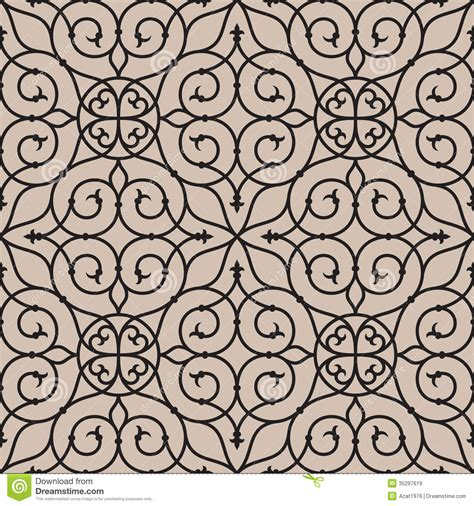 pattern line work milan seamless pattern one royalty free stock images