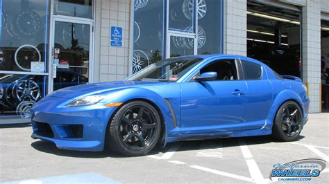 mazda rx 8 wheels car mazda rx 8 on wheels california wheels