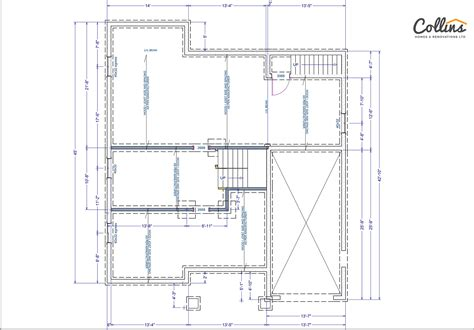 kerry floor plan basement collins homes renovations ltd