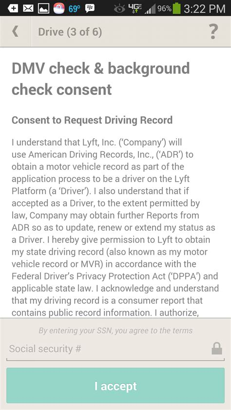 Lyft Background Check Status Lyft Series Registration Rideshare Dashboard