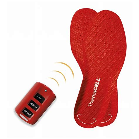 heated shoe inserts thermacell 174 heated insoles 233799 boot shoe insoles