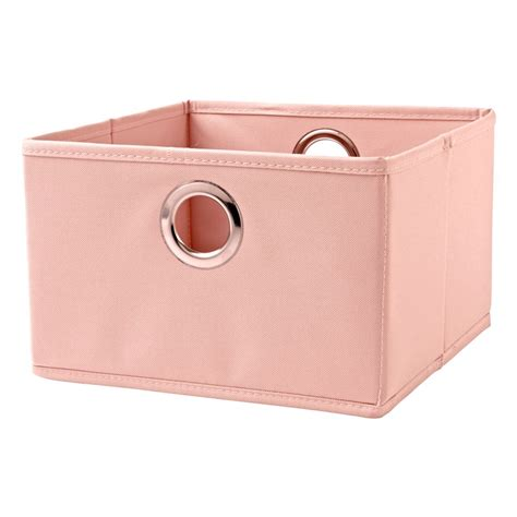 Canvas Drawers by Light Pink I Think I Canvas Small Storage Drawer The Land Of Nod
