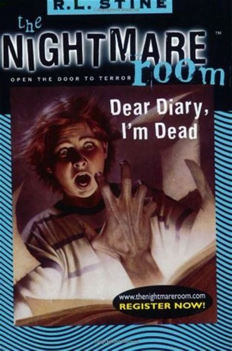my dear nightmare books dear diary i m dead the nightmare room 5 by r l