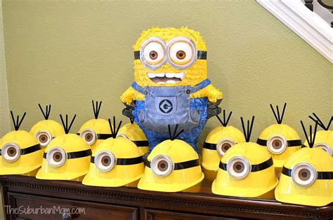 Bday Decorations At Home minion birthday party ideas