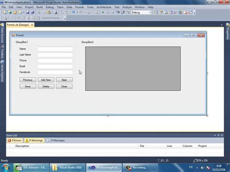 tutorial visual basic 2010 access database programming in visual basic net how to connect access