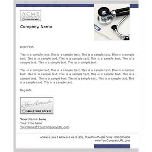 doctors letters templates professional company letters email templates business