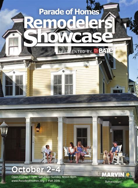 parade of homes remodelers showcase fall 2015 by batc issuu