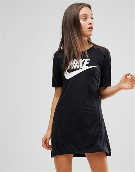Nike Womens Vintage Dress 1 nike nike logo t shirt dress