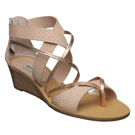 wedge heel gladiator sandals new dune gogo d womens gladiator low wedge heel