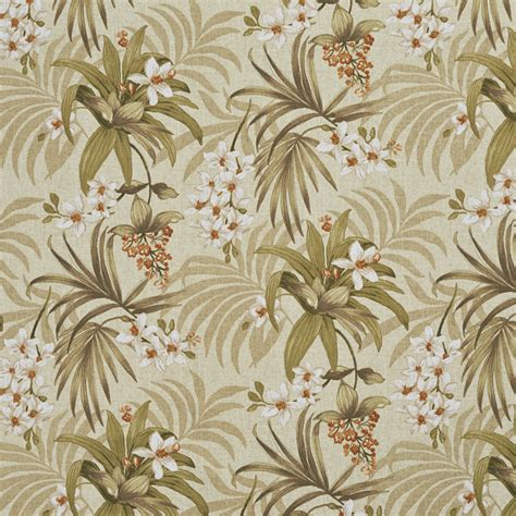 flora grass green outdoor upholstery fabric dz9 green and orange floral outdoor indoor marine fabric by