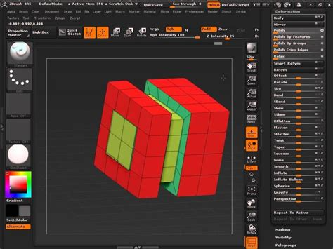 Tutorial Zbrush 4r5 | zbrush 4r5 dealing with edge loops and edge rings
