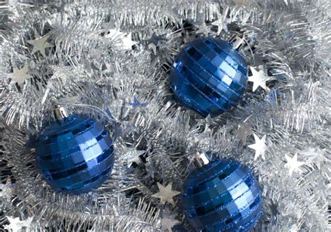 photo of christmas baubles and tinsel free christmas images