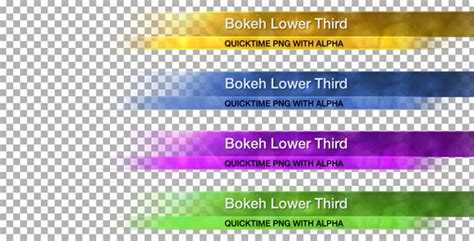 20 Best Lower Thirds Templates Motion Tutorial Zone Lower Third Templates Photoshop
