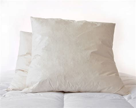 Continental Pillows by 65 X 65cm Square Continental Duck Feather Pillow