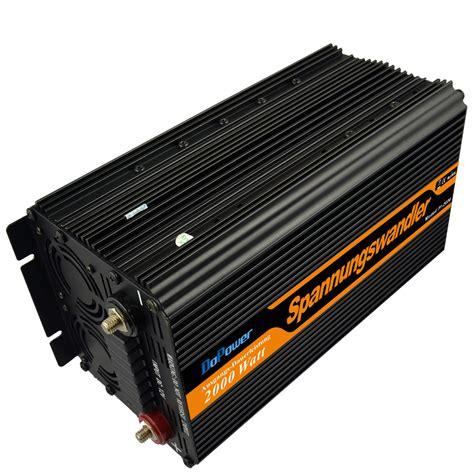 Inverter Lcd 5 lcd dispaly inverter 12v 220v 2000w peak power 4000w grid modified sine wave power
