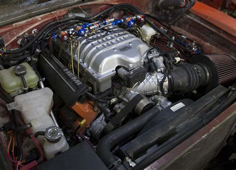 hellcat engine swap secrets of roadkill s general mayhem hellcat engine swap