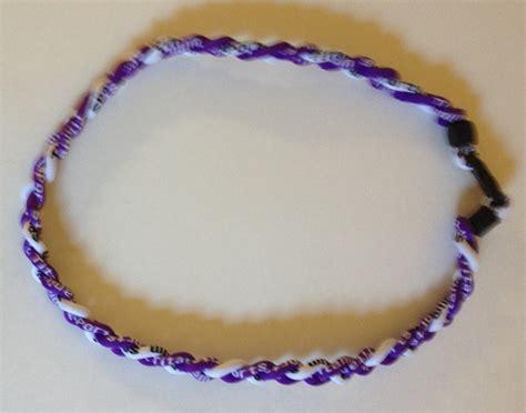 T01 218 Titanium Necklaces purple and white titanium germanium necklace dph custom pins