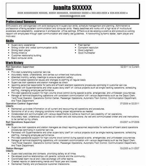 railroad resume exles railroad resume resume ideas