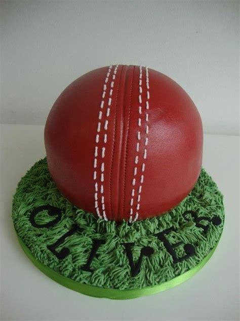 sports on pinterest 20 pins 3d cricket ball cake cakes pinterest cricket cake