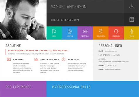 theme songs personal gridus vcard cv resume wordpress wordpress theme design