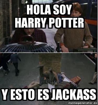 Meme Generator En Espaã Ol - meme personalizado hola soy harry potter y esto es