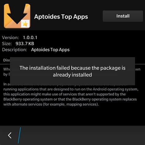 any apk for android can t any android apps blackberry forums at crackberry