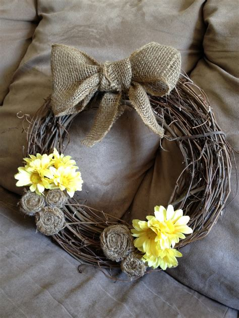 burlap wreath how to wreaths pinterest pinterest discover and save creative ideas