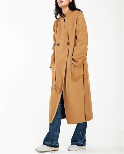 Handmade Coats - ella lai handmade wool coat style 32 in camel