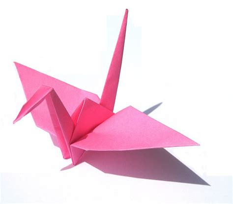Pink Origami Paper - pink origami cranes 100 japanese wedding by graceincrease